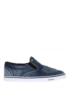 Denim slip-on sneakers od Diesel